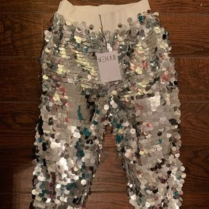 New Sequin Joggers